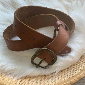 3/$25 Abercrombie soft leather belt size S/M